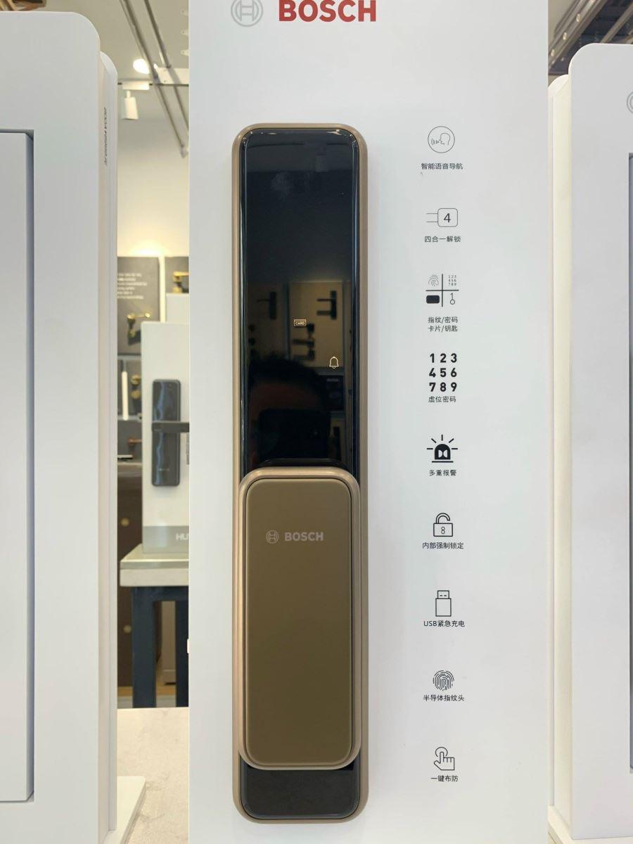 Khóa vân tay Bosch EL 600- màu đồng-2