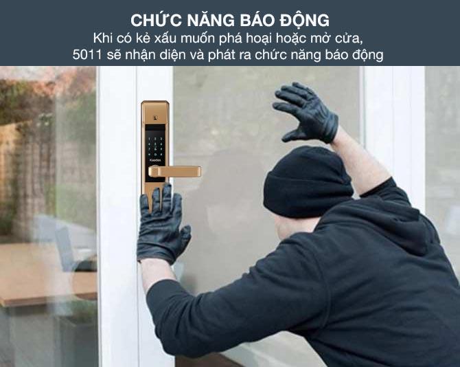 Khóa cửa vân tay có an toàn không